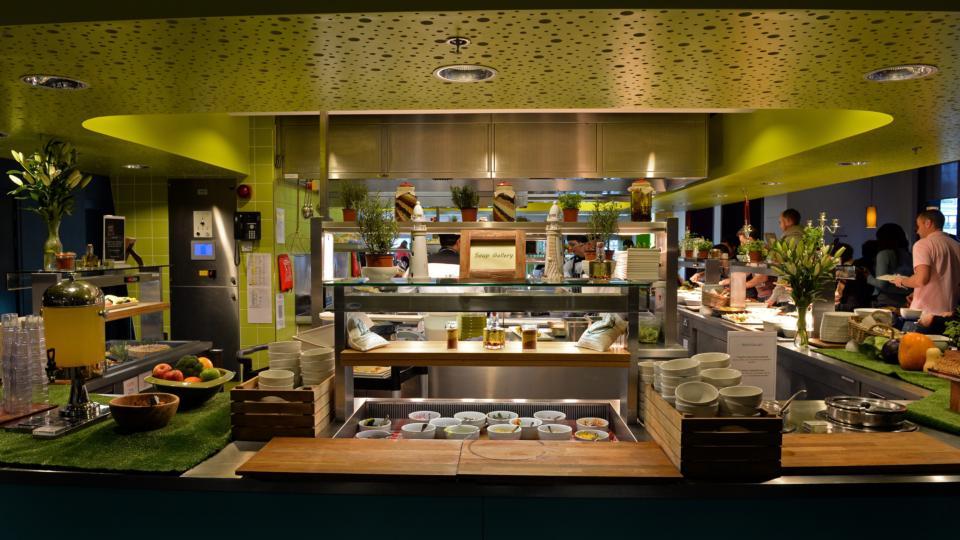 Inside Googles global canteen