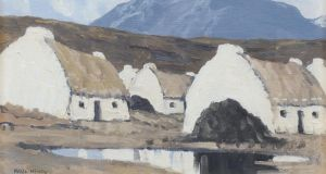 A Connemara Village by Paul Henry (€50,000-€70,000).