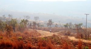 The Ntchisi region of Malawi. One in seven people in the Southern African country has HIV/Aids.  Photograph: Sally Hayden