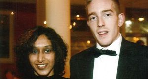 Dhara and Michael Kivlehan. Liver tests raised the possibility of Ms Kivlehan having severe pre-eclampsia.