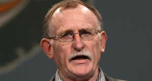 Sinn Féin's Dessie Ellis: Increased homelessness consequece of budget cuts.Photograph: Alan Betson