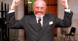 "Senator David Norris:  ""people regularly die of hypothermia in this country"". Photograph: David Sleator"