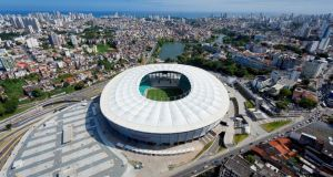 The Arena Fonte Nova stadium, in Salvador, on of the 12 venues that will host matches next summer.