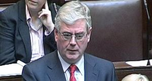 Tánaiste Eamon Gilmore told the Dáil: 'I am truly sorry for the loss and suffering that both families have endured'.