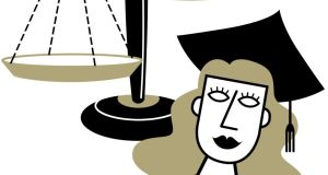 Rough justice: in every year since 2003 the number of women appointed to the inner bar has failed to exceed 30 per cent.
