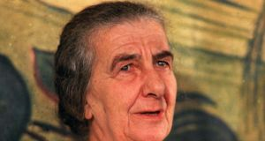 Former prime minister Golda Meir: not aware of any Palestinians. Photograph: AP