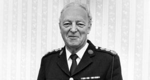 Late Garda commissioner Eugene Crowley