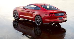 Smart looking new Mustang will go on sale as fastback coupé or a convertible