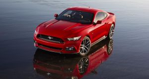 Ford's new Mustang: unveiled today and going on sale across Europe