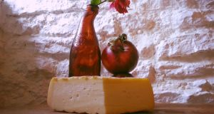Brewer's Gold is a new beer-washed-rind cheese from Knockdrinna Farmhouse Cheese