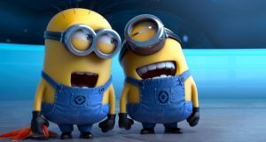 Laughing all the way to the top: Despicable Me 2. took the No 1 spot at the Irish box office in 2013