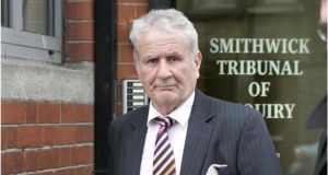 Former garda Owen Corrigan has said he rejects the fidings of the Smithwick Tribunal of Inquiry. Photograph: Dara Mac Dónaill/The Irish Times.