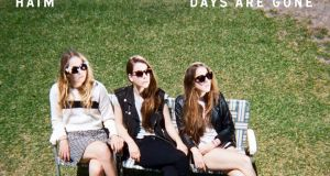 "HAIM DAYS ARE GONE ""A breezy, carefree, infectiously bright pop album from a band who know they're onto a good thing"""