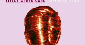 "LITTLE GREEN CARS ABSOLUTE ZERO ""An album of great songs that sound like great songs from a dozen other bands"""