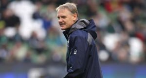 Joe Schmidt: says players must understand team system and be able to stay within it. Photograph:  David Rogers/Getty Images