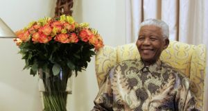Former South African president Nelson Mandela has died in hospital tonight, president Jacob Zuma has announced. Photograph: Themba Hadebe/Reuters.