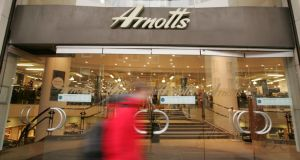 Fitzwilliam Finance Partners Ltd, an investment company led by solicitor Noel Smyth, has bought €140 million worth of loans owed by Irish retailer Arnotts to Ulster Bank.