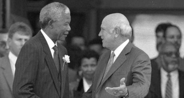 Image result for de klerk mandela