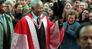 Mandela 'was the best of our values', Mary Robinson says