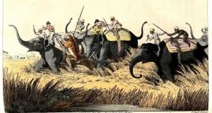 A thrilling account of hunting in British Raj India, Oriental Field Sports by Capt Thomas Williamson, published in 1808, is illustrated with hand-coloured plates and estimated at €700-€1,000 at Mealy's
