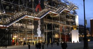 The Centre Pompidou, in Paris, which Peter Rice helped to design. Photograph:  Eric Feferberg/AFP/Getty Images