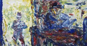 Hot Weather/Hot Day by Jack B Yeats sold for €27,500 at O'Driscoll's, less than its lower estimate, €30,000- €40,000