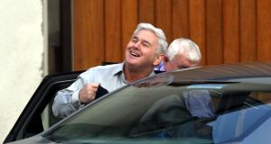 John Gilligan on being released from Portlaoise Prison 	Photograph: Alan Betson / THE IRISH TIMES