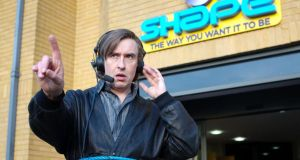 Steve Coogan as Alan Partridge in Alpha Papa