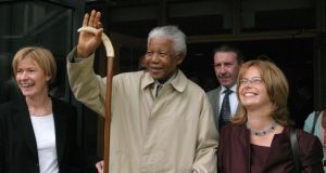 Mandela, Ireland and me