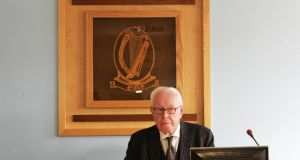 Mr Justice Peter Smithwick's report is unlikely to change anything fundamental. Photograph: Cyril Byrne
