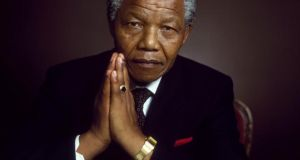 Nelson Mandela: The  first democratically elected president of South Africa had repeatedly been hospitalised with lung troubles in recent years. Photograph:  Camera Press/ Yousuf Karsh