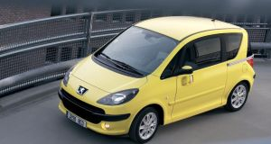 Peugeot 1007. Total loss: €1.9bn. Loss per car: €15,381