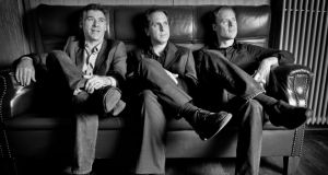 The Larry Goldings Trio: from left, Peter Bernstein, Goldings and Bill Stewart