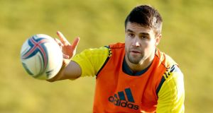 Conor Murray: Munster await news of the injury he picked up against Perpignan.