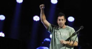 American comedian Adam Sandler topped Forbes' list of Hollywood's most-overpaid actors, commanding a high up-front fee while delivering middling returns, the magazine said today.
