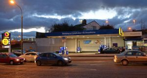The Maxol service station at Constitution Hill,  Dublin 8. Photograph: Eric Luke