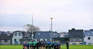 Connacht head coach Pat acknowledges that it will be another big step up for his team on Saturday. Photograph: James Crombie/Inpho