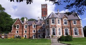 Ashurst in Killiney, a Victorian Gothic mansion with belfry tower