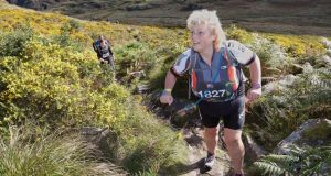Teena Gates: competing in the Killarney Adventure Race, which is one of her greatest achievements.