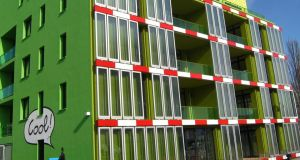 The building in Hamburg powered by algae