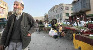 A street in Kabul: can lessons be learned in Afghanistan from the experience of Northern Ireland? Photograph: Brenda Fitzsimons