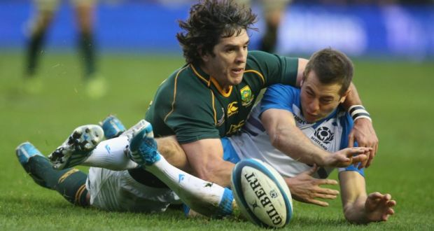 South Africa S Jacque Fourie Reputedly The Best Paid Player In World Is On