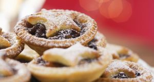 One mince pie contains 239 calories so make sure you enjoy every mouthful of it. Savour the treats you choose to eat. Photograph: Getty Images
