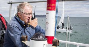 Howth YC's David Lovegrove: is set to take over as president of the ISA in the spring. Photograph: David Branigan/Oceansport
