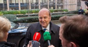 "Minister for Finance Michael Noonan: ""I don't see reducing income tax as a return to auction politics. I think auction politics have given us the boom-and- bust cycle and have destroyed so many lives in this country we should never go back there."""