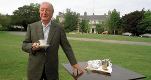 'My good friend the dean': Charles Haughey at his Kinsealy home. Photograph: Eamonn Farrell/Photocall Ireland