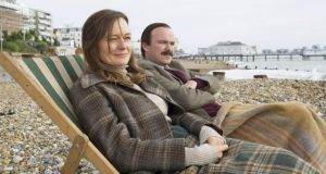 Elusive: Rory Kinnear as Lord Lucan and Catherine McCormack as his wife, Veronica