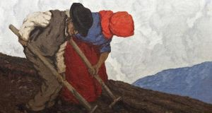 Adam's sold The Potato Diggers by Paul Henry for €400,000, a record price at auction for the artist.