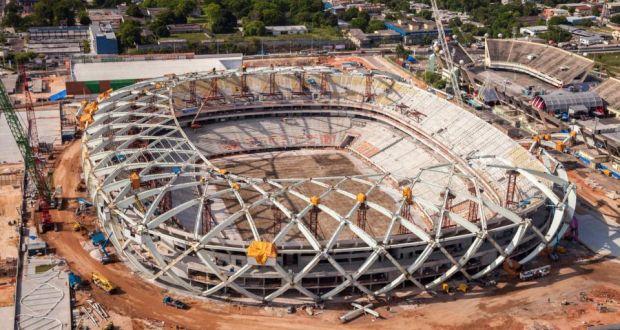 ac4563791 The Arena da Amazonia stadium in Manaus.