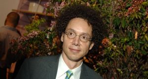 "The New Yorker's Malcolm Gladwell tried to riposte in a post called ""Being Nice isn't really so awful"" but wandered into a silly argument about satire propping up, rather than subverting, the privileged and the status quo. Malcolm Gladwell Photograph: Theo Wargo/WireImage"